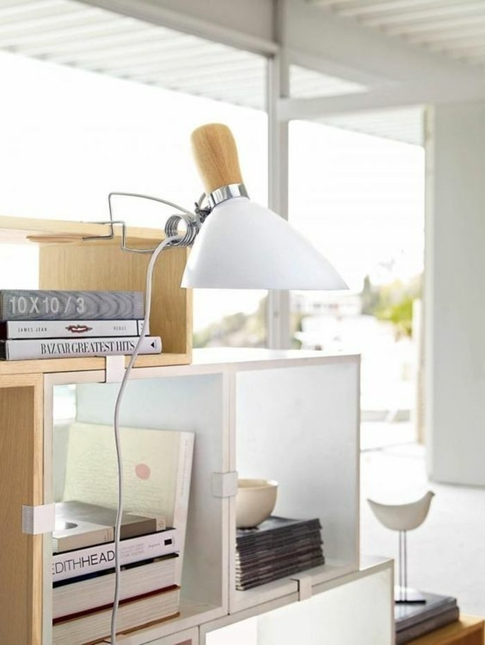 lampe-de-bureau-a-pince-lampe-detagere-design-elegant