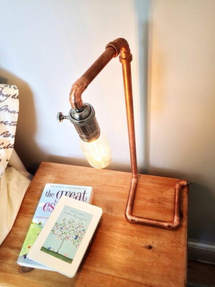 lampe-de-chevet-industrielle-ampoule-et-tube-de-cuivre