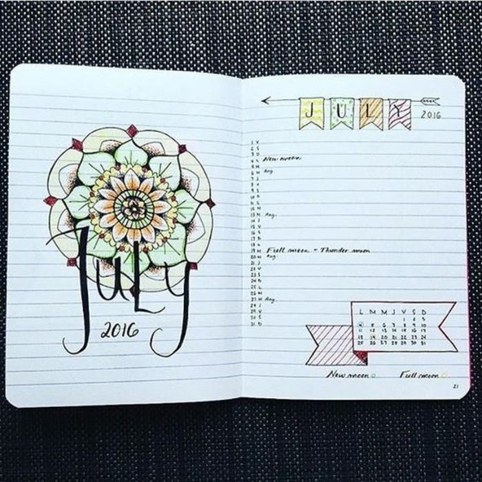 les-dessins-une-autre-idee-esthetique-pour-decorer-son-agenda-scolaire-avec-du-gout