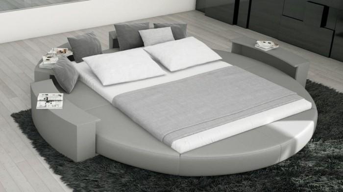 Les nouvelles tendances pour les chambres coucher du - Chambre lit rond ...