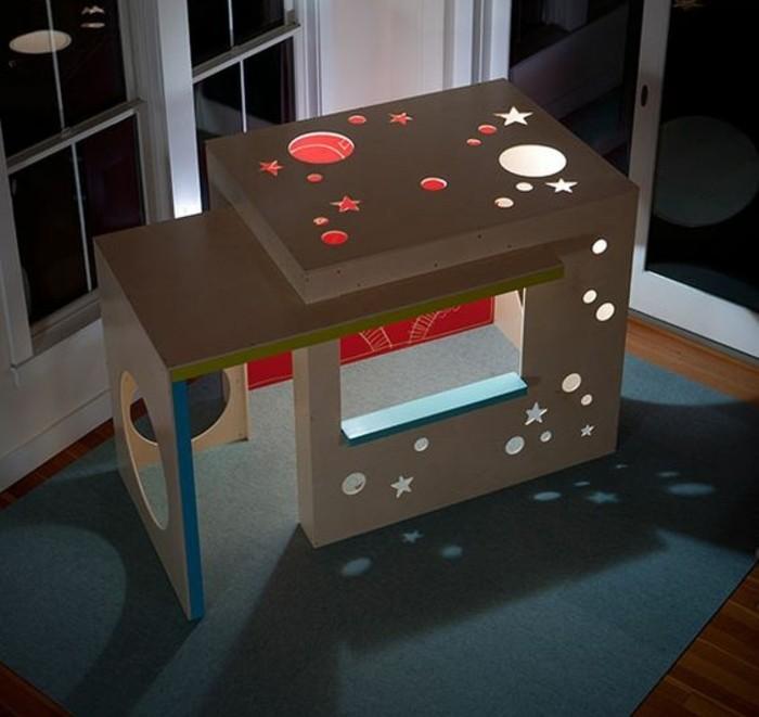 Comment fabriquer une cabane en carton tuto et plusieurs - Comment fabriquer une table en carton ...