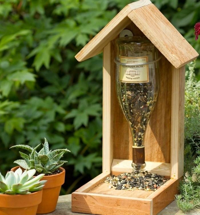 Mangeoire pour oiseaux 60 mod les et id es diy - Plan de mangeoire pour oiseaux du jardin ...
