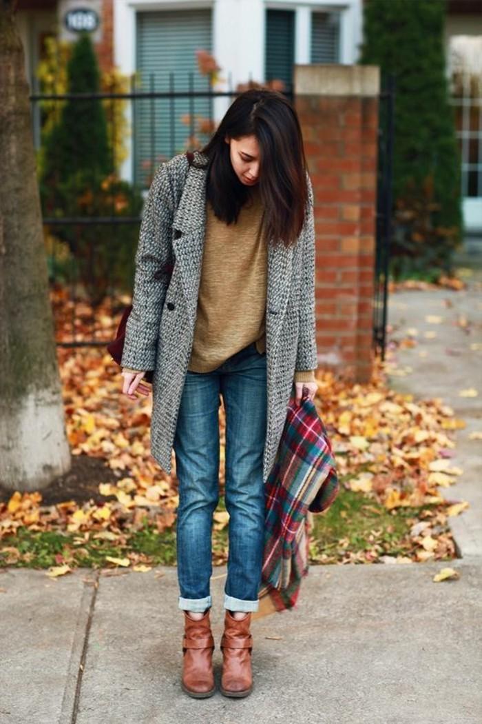 manteau-boyfriend-gris-pull-camel-jeans-et-bottines