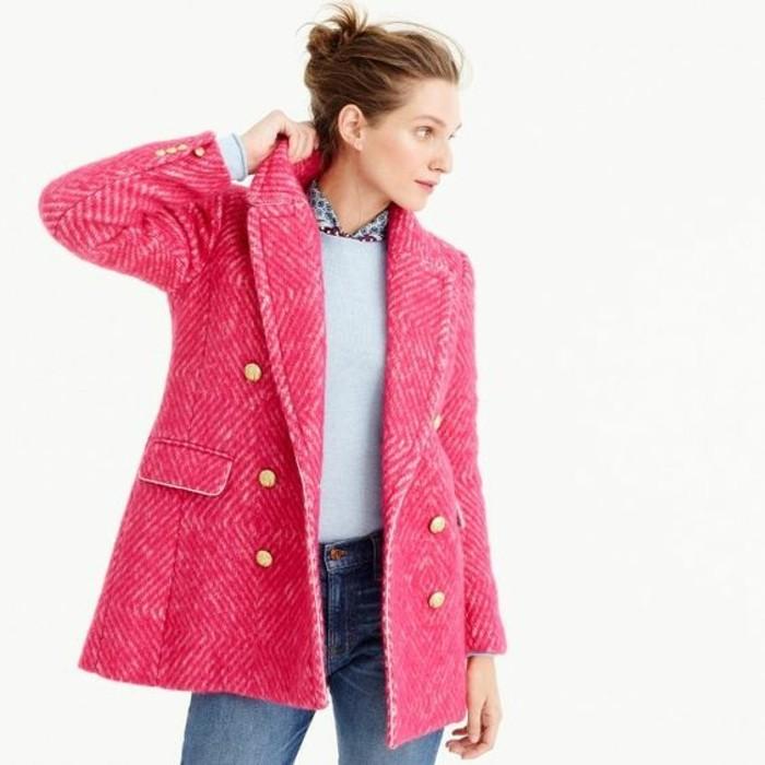 manteau-tweed-rose-tenue-decontractee-tendance-tweed