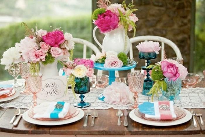 mariage-retro-chic-decoration-naturelle-en-blanc-rose-et-bleu