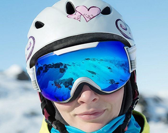 masque de ski en piste pour notre s lection hiver 2017. Black Bedroom Furniture Sets. Home Design Ideas