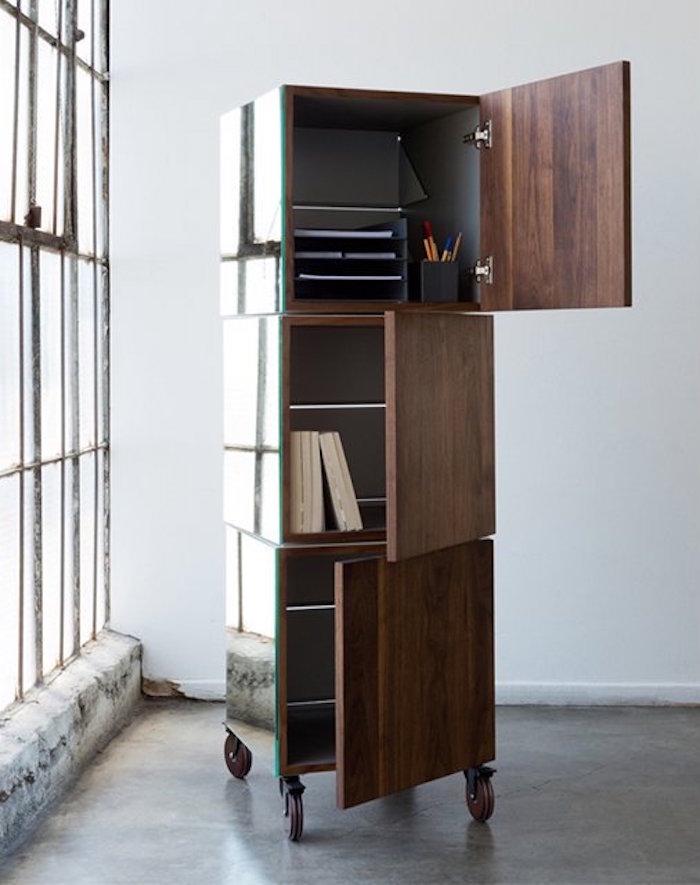 meuble-casier-etagere-rangement-colonne-a-roulettes-roulante-cube