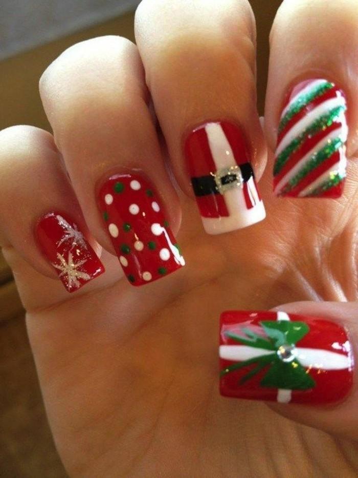 modele-nail-art-discret-nail-art-tuto-photo-idee-noel-pere