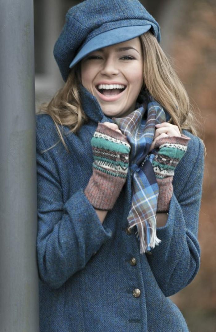 mode-vintage-manteau-en-laine-femme