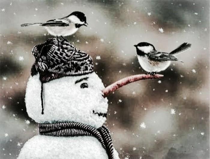 Faire un bonhomme de neige inspirez vous pour cr er le meilleur - Modele bonhomme de neige ...