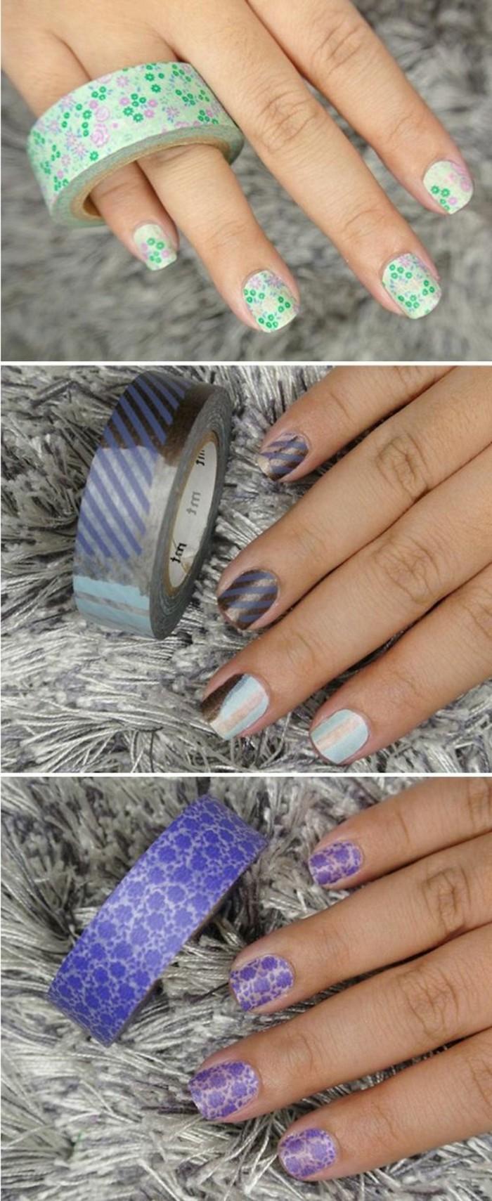 nail-art-avec-du-ruban-adhesif-decoratif-motifs-liberty-pour-un-look-feminin