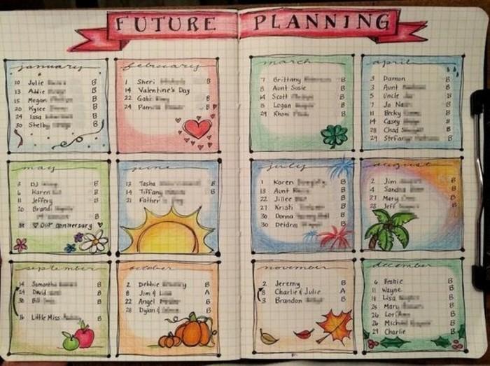notes-accompagnees-de-dessins-thematiques-qui-rappellent-les-evenements-a-venir-agenda-personnalise-sympa