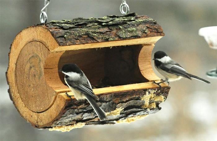 Mangeoire pour oiseaux 60 mod les et id es diy - Fendeur de buche fait maison ...