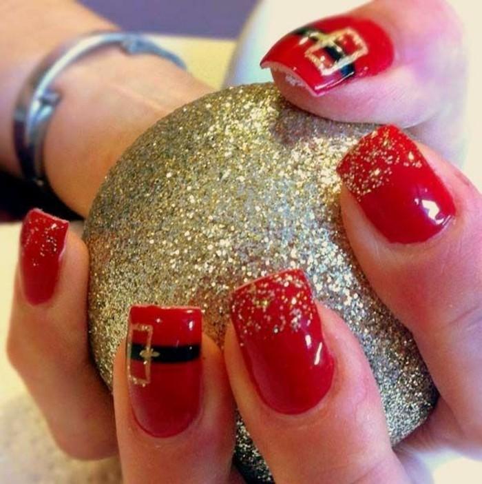 ongles-de-noel-idee-manucure-facile-model-nail-art-facile-manucure-de-noel