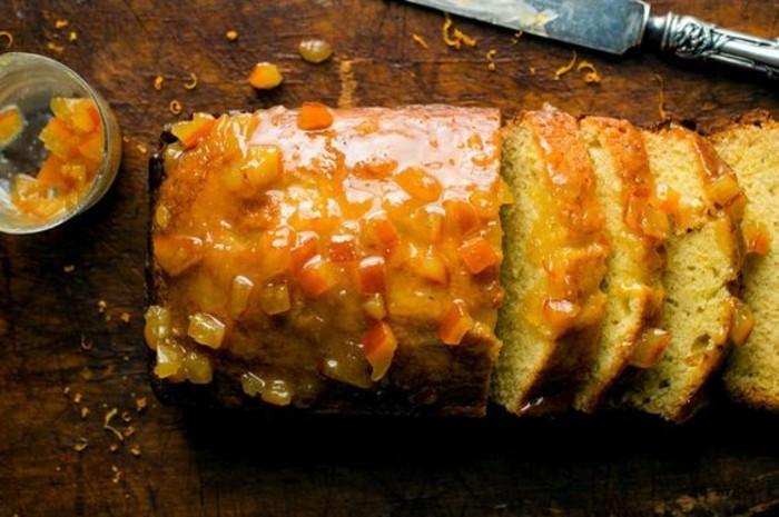 Recette Cake Orange Confite