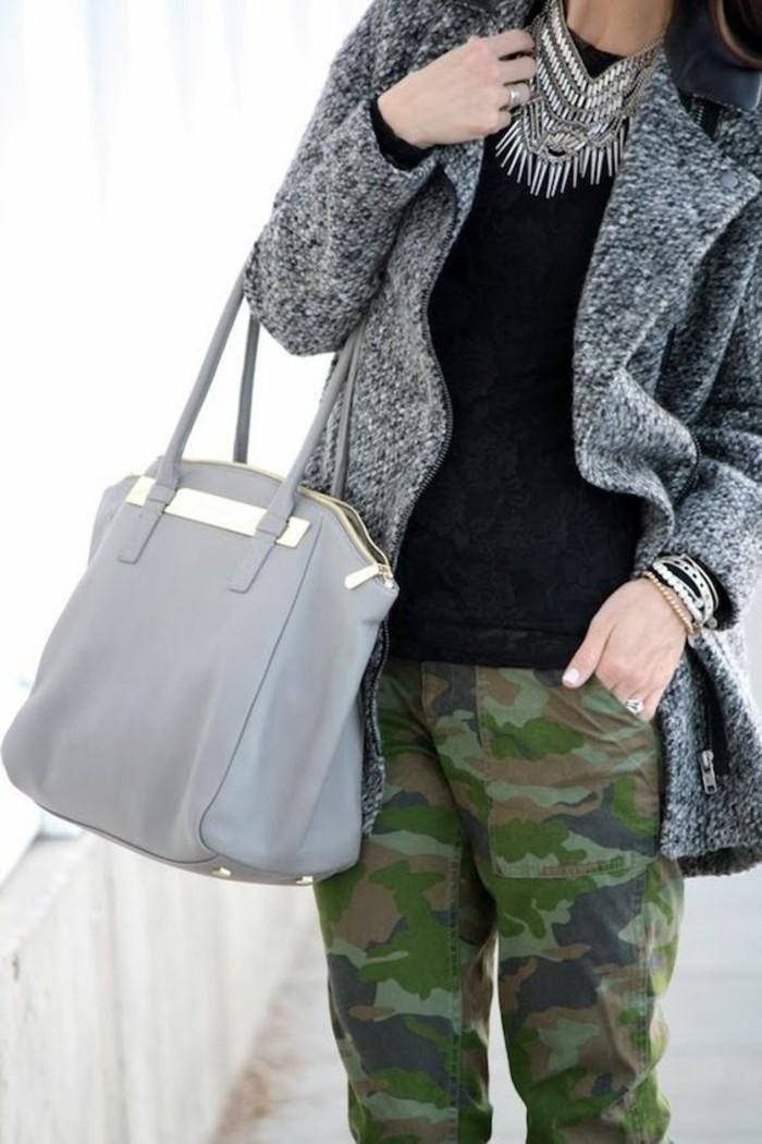 pantalon-a-motif-camouflage-manteau-femme-gris-chine