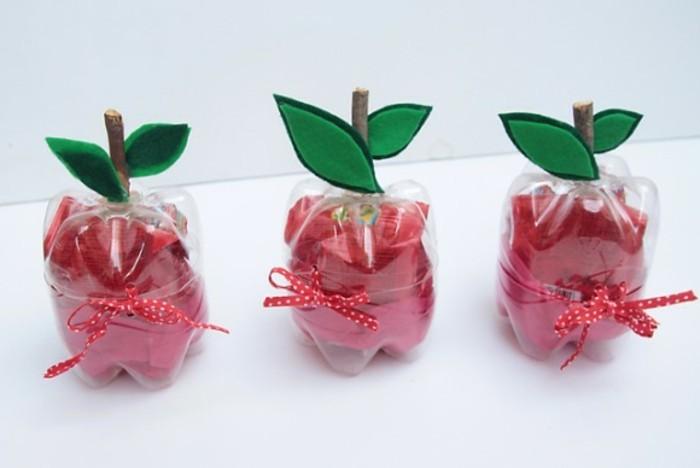 paquets-cadeaux-diy-que-faire-avec-des-bouteilles-en-plastique-imitation-pommes