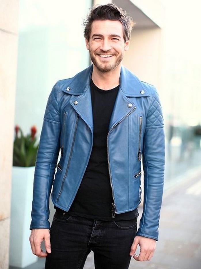 perfecto-homme-blouson-cuir-bleu-vintage-veste-cuir-motard