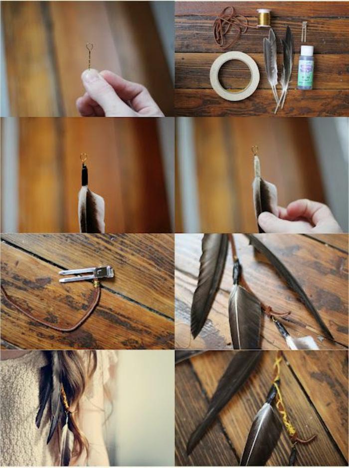 plume-pour-cheveux-materieaux-necessaires-plume-marron