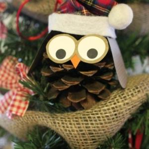 Pommes de pin pour la déco de Noël - 58 idées en photos
