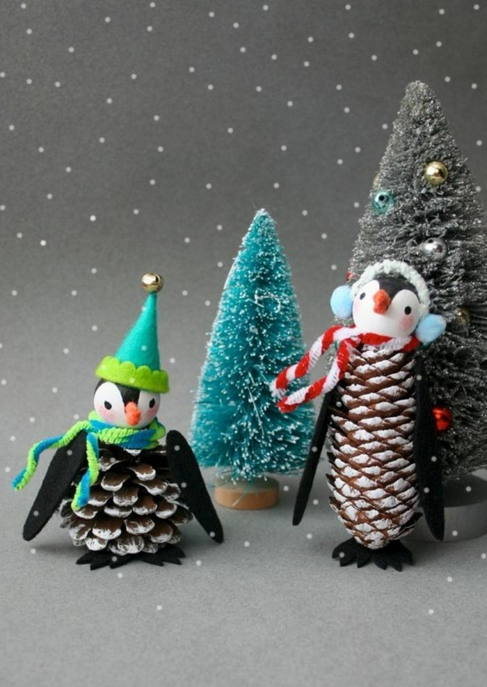 pomme-de-pins-pinguins-de-noel-a-fabriquer-avec-ses-mains