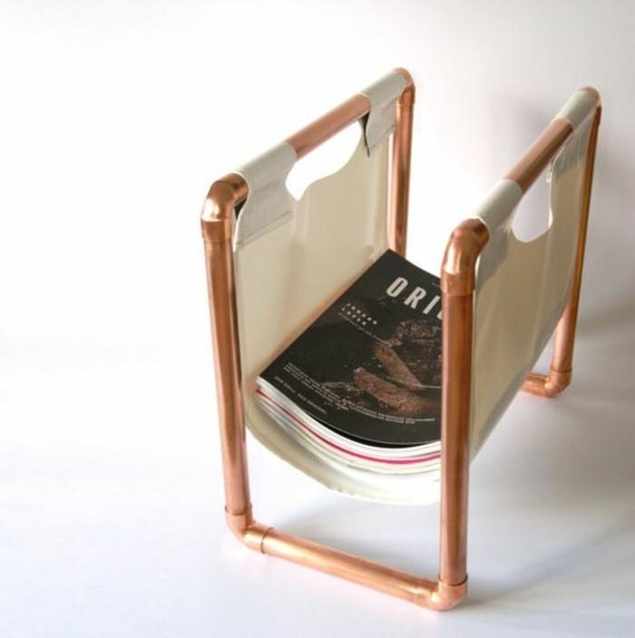 porte-revue-diy-en-tissu-et-tube-cuivre