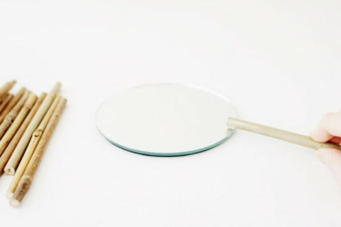 Que faire avec des bambous trouvailles exotiques en 60 for Coller un miroir