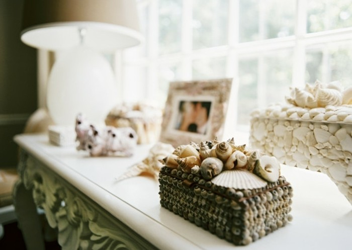 Que faire avec des coquillages 60 photos et tutoriels - Fabriquer une boite a bijoux ...