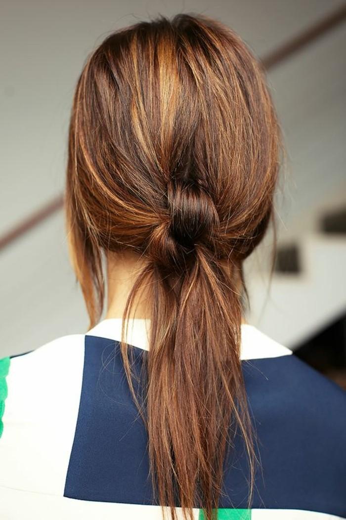 Queue De Cheval Hairstyle : queue-de-cheval-bombee-queue-de-cheval-nouee
