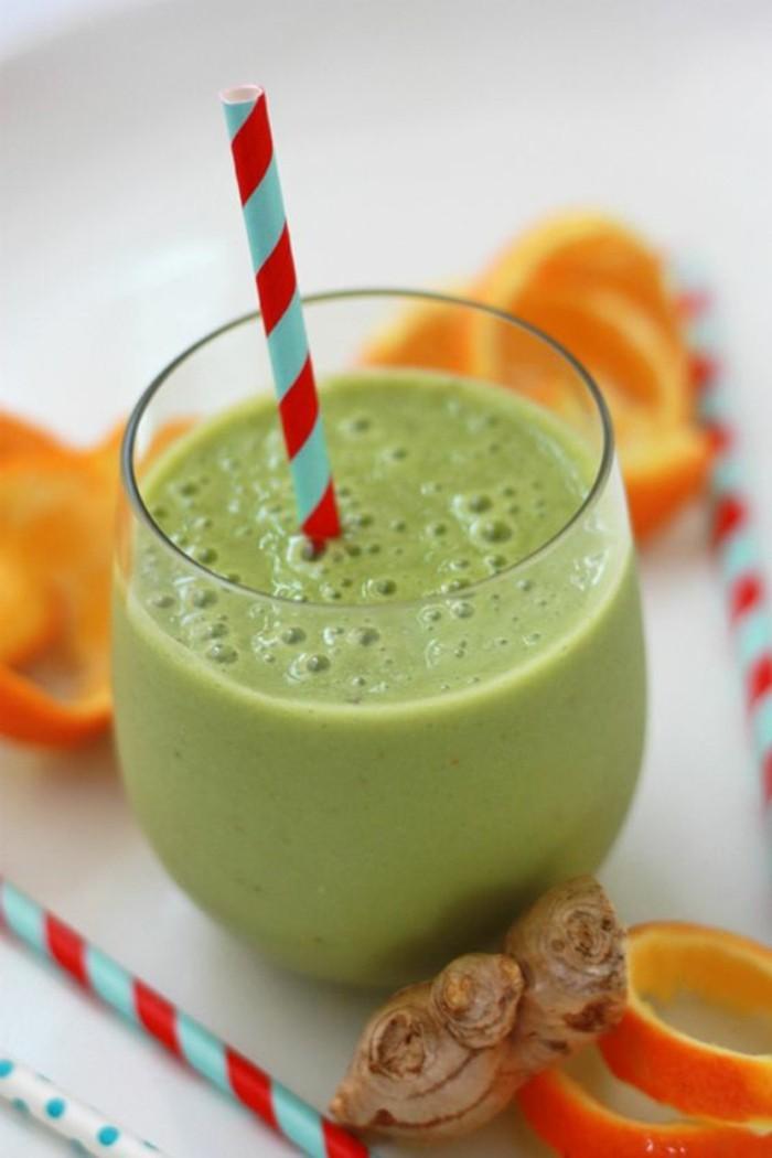 recette-smoothie-vert-aux-oranges-et-gingembre-recette-revitalisante