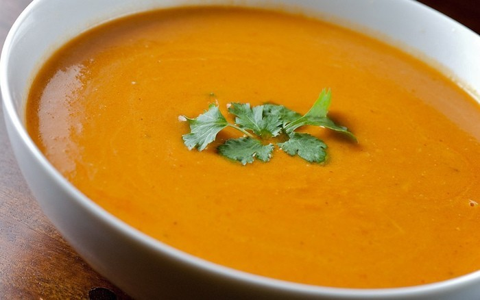 recette soupe de courge butternut potiron citrouille creme veloute potage