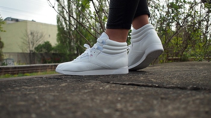 reebok-classic-freestyle-hi-white-blanche cuir femme exo