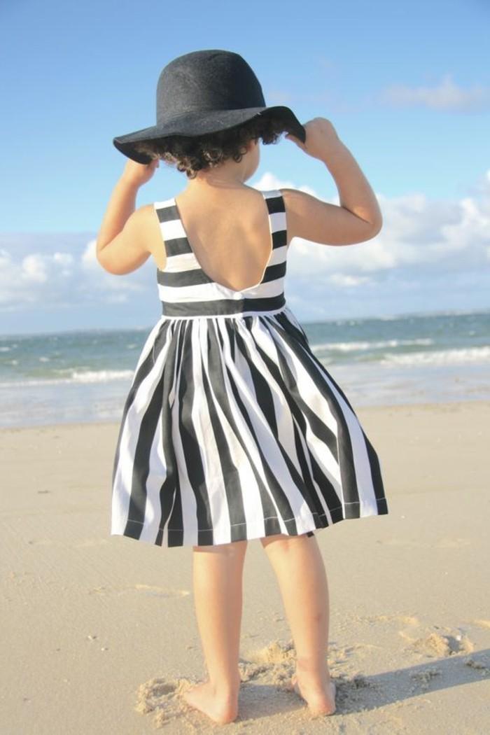 robe-fille-quatre-ans-robe-a-rayures-robe-de-plage-pour-petite-fille
