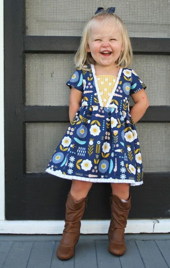 a25d688310 Robe pour petite fille qui produit un grand effet en 55 photos ...