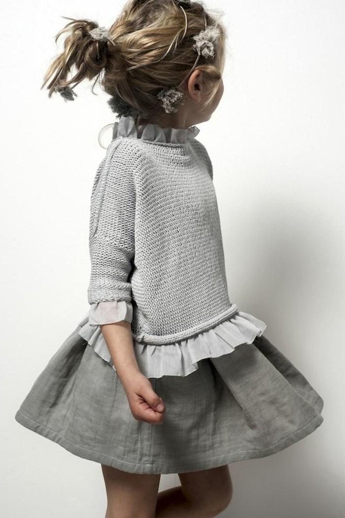 robes-filles-robe-grise-combinaison-de-deux-matieres