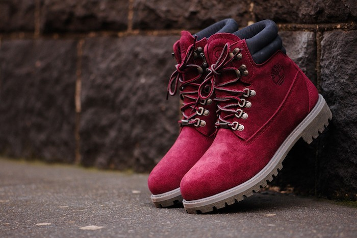 timberland homme rouge et blanc