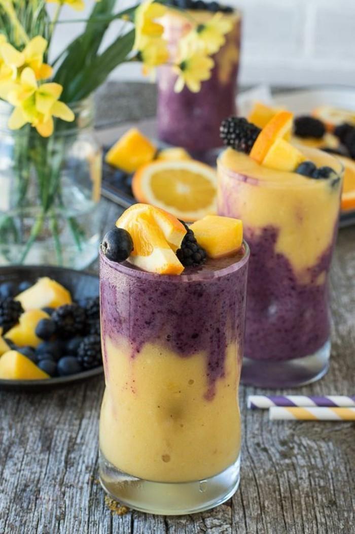 smoothie-minceur-au-gout-tropicale-ananas-et-myrtilles