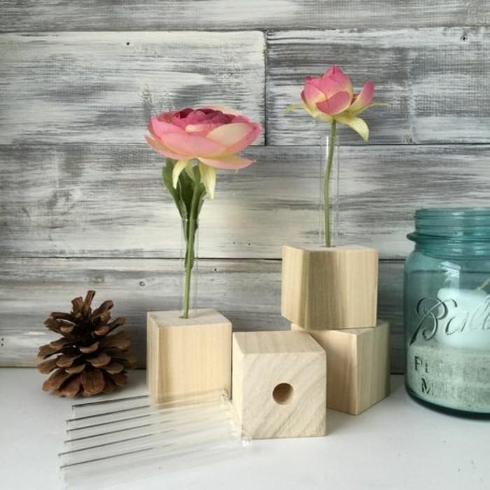 nos suggestions pour r aliser un vase soliflore original et pas cher. Black Bedroom Furniture Sets. Home Design Ideas