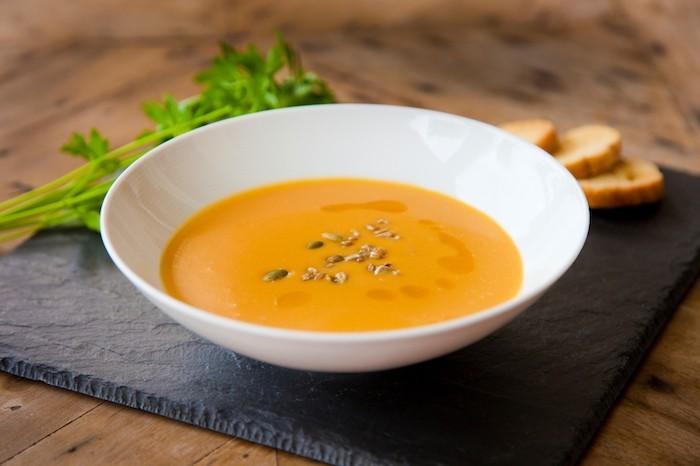 soupe de courge potiron à tomber par terre repas hiver facile legumes