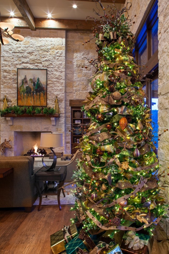 splendide-decoration-noel-sapin-elegant-tine-superbe-decoration-arbre-de-noel-nouvel-an