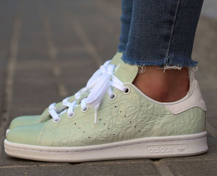 stan-smith-femme-vert-cuir-froisse-adidas-originals-hipster