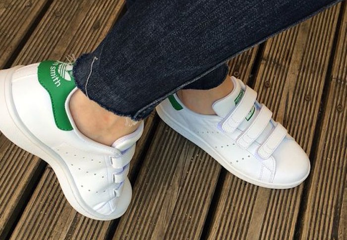 adidas original stan smith femme scratch