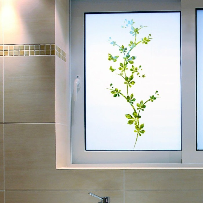 Emejing fenetre salle de bain depoli ideas for Decorer une salle de bain sans fenetre