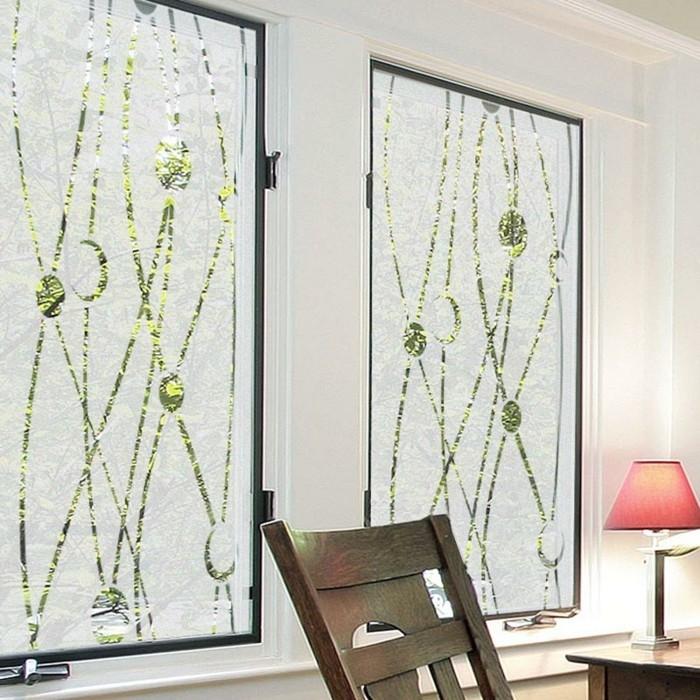 Stickers pour vitres pour d corer et pour pr server votre for Decoration vitres fenetres