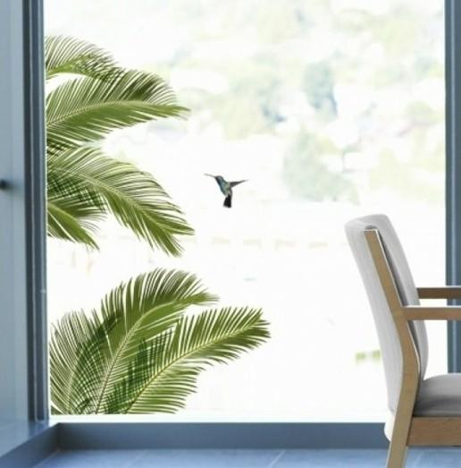stickers-pour-vitres-palmes-et-oiseaux-exotiques-stickers-et-decoration
