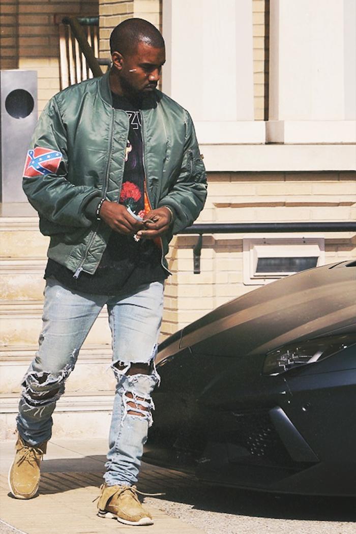 style-fashion-mode-kany-west-blouson-bombers-homme-kaki-schott