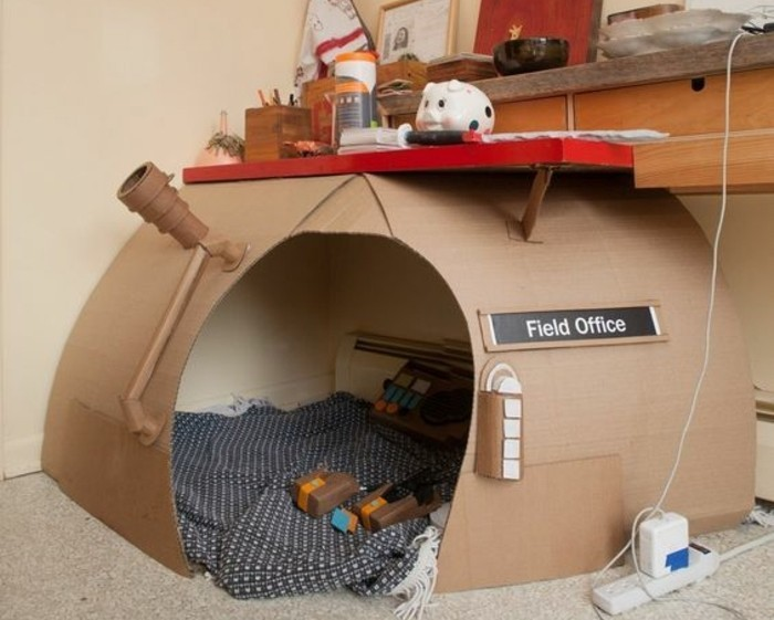 Comment fabriquer une cabane en carton tuto et plusieurs mod les - Comment faire des tacos maison ...