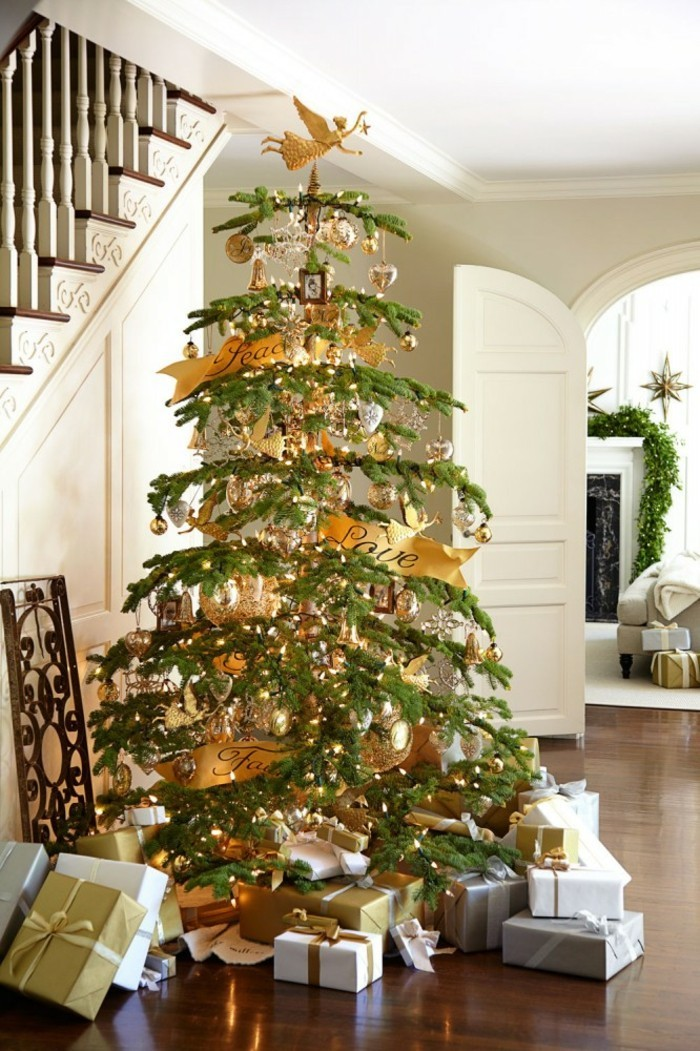 superbe-decoration-arbre-de-noel-nouvel-an-ange-en-top