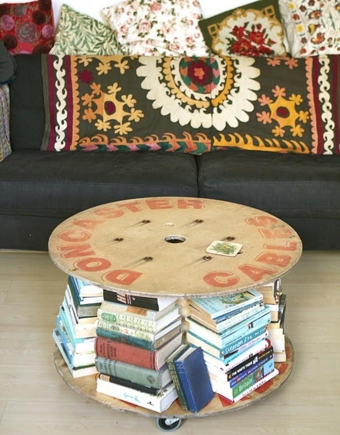 table-basse-touret-avec-des-rangements-surcharges-de-livres-deco-sallon-boheme