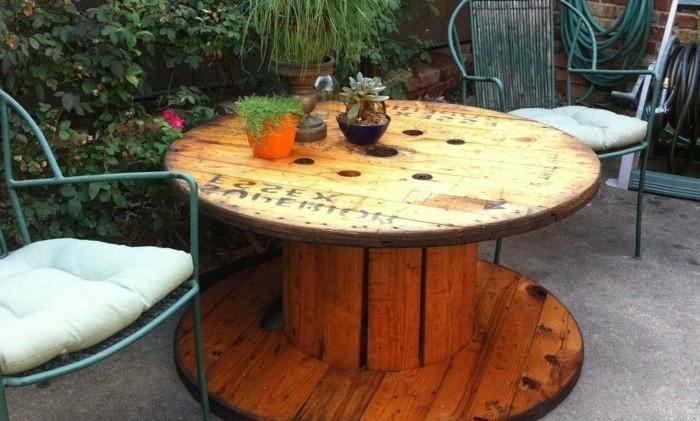 Construire Une Table De Jardin. Latest Amenagement Jardin Palette ...